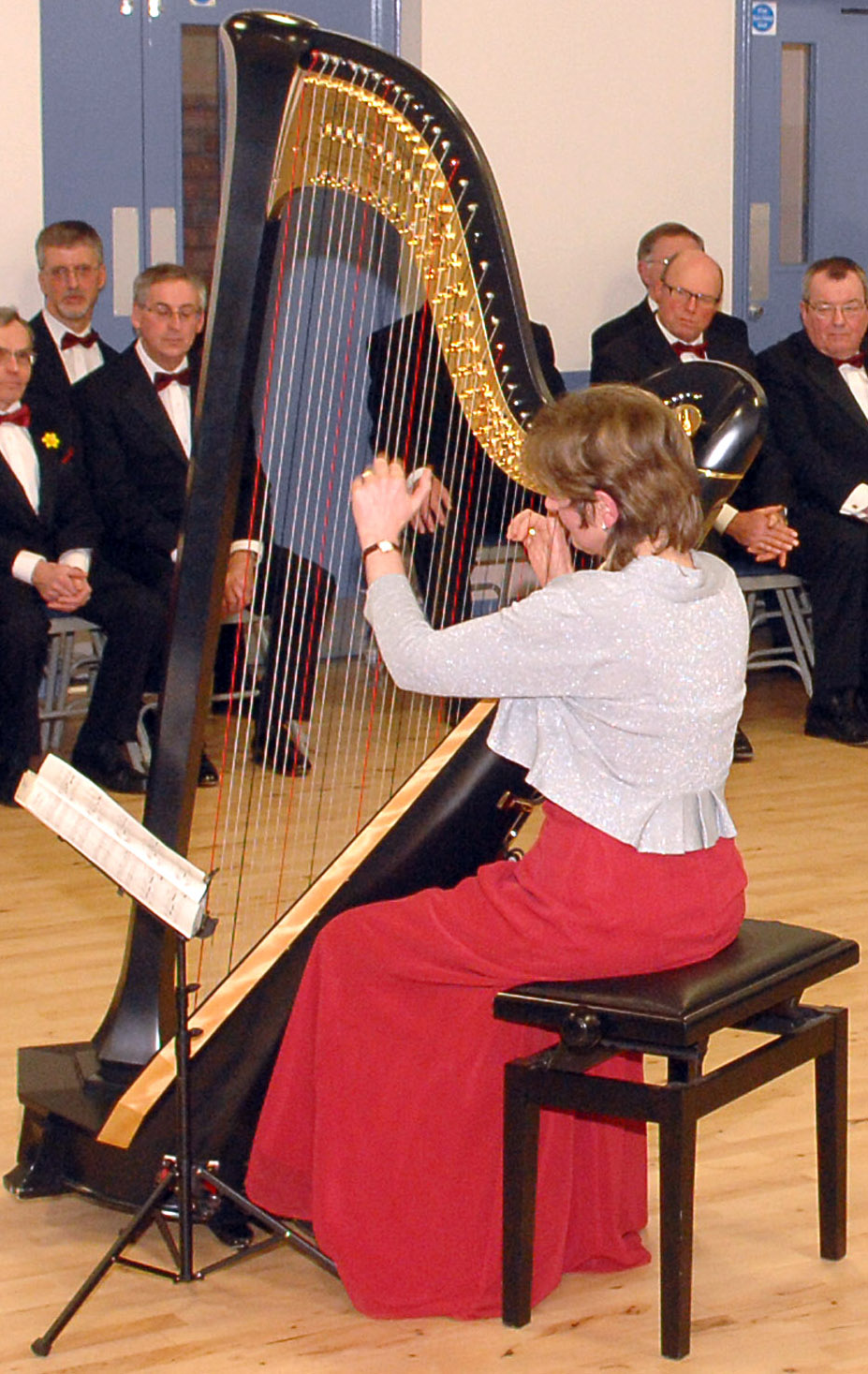 20150227 NDMVC Penny-Robin Riddering performs at Welsh Night concert 3a