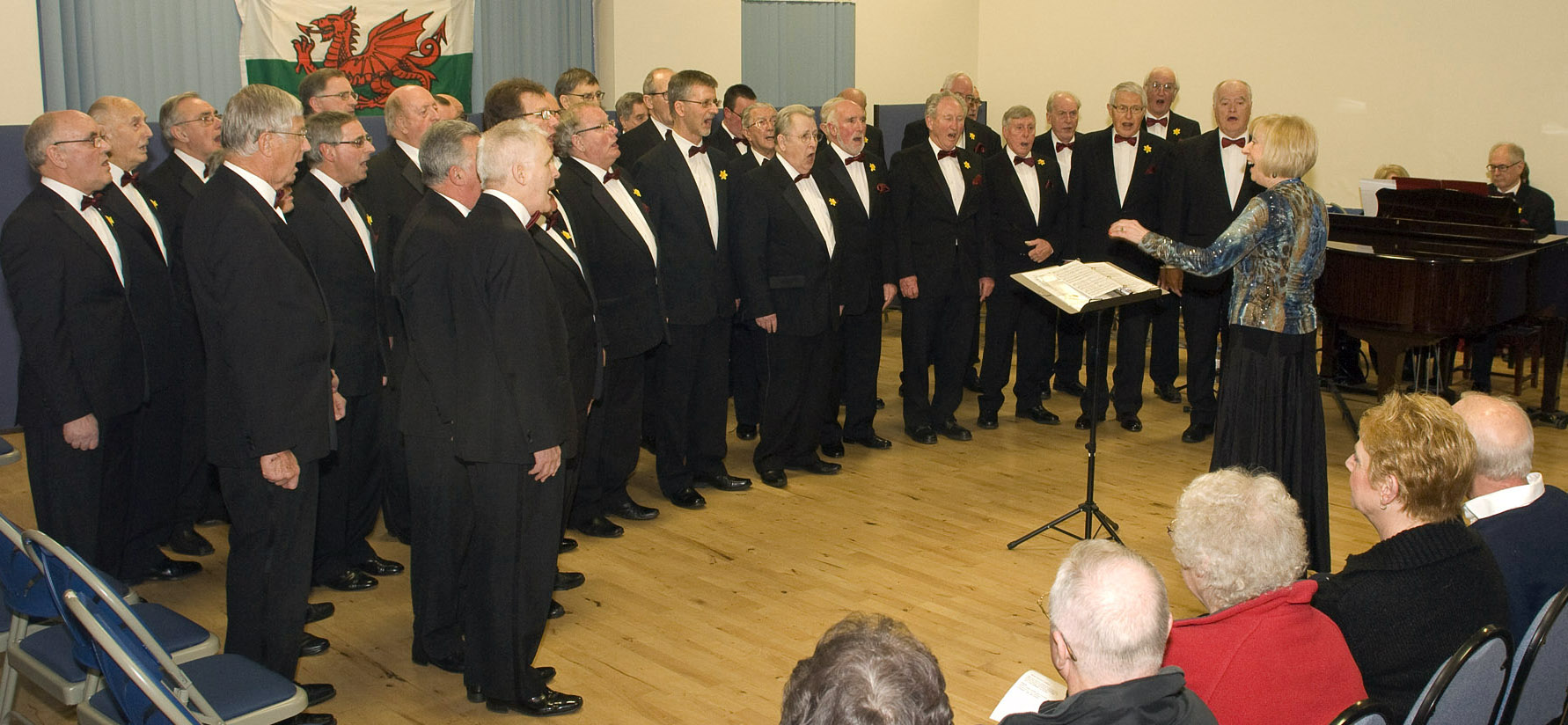 Newport Choir Supports Mayors Charity with a Welsh Flavour.