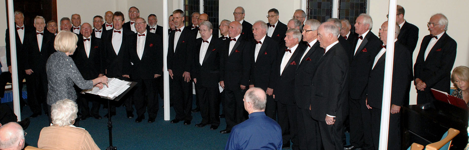 Voice Choir performing on 15 May 2015 at Trinity Church,