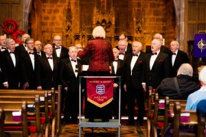 Newport (Salop) & District Male Voice Choir 16 February 2018 at Edgmond